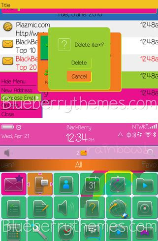 blackberry themes download 9780 rainbow 9300 9700 9780 os6 themes free blackberry themes