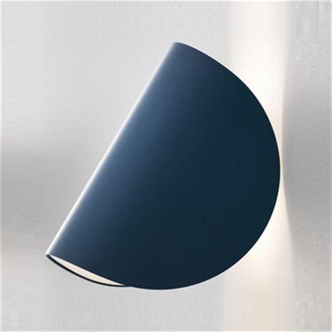 applique fontana arte applique murale io bleu led h16 5cm fontana arte