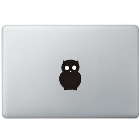 Sticker Macbook Owl owl logo macbook decal kongdecals macbook decals