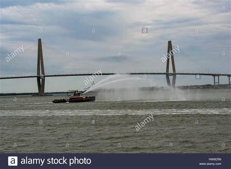fire boat nozzle fire fighting tug stock photos fire fighting tug stock