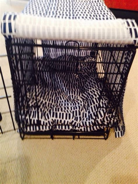 diy crate cover 25 best ideas about crate cover on kennel cover crate and