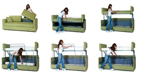 a sofa bed which turns into bunk beds coupe sofa turns into a comfy bunk bed in just 14 seconds