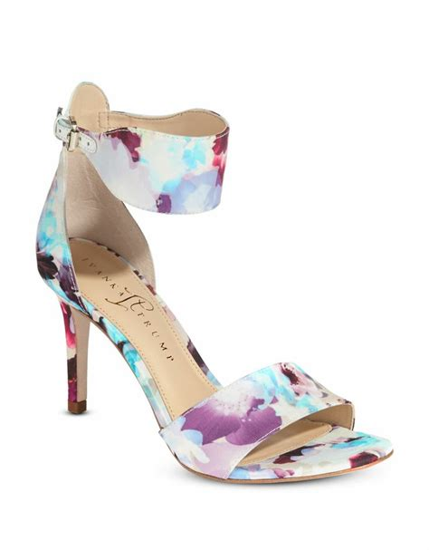 floral heeled sandals ivanka gelana floral print heels for a prince to