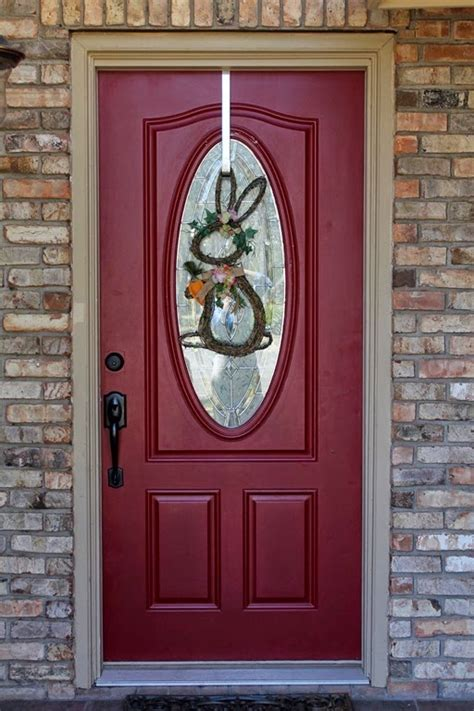 what color goes with what front door color goes with light brick exterior house