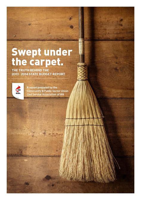 swept the rug swept the carpet by cpsu csa issuu