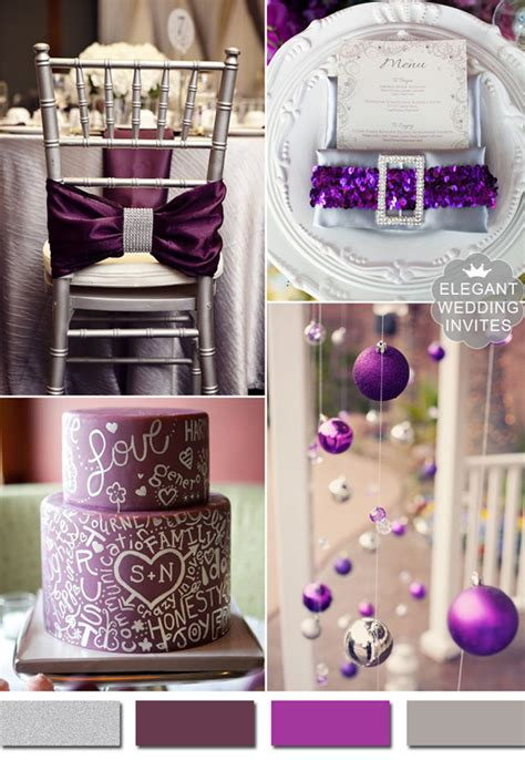5 amazing metallic wedding color ideas and supplies