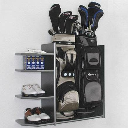 Golf Storage Rack Garage by I Would Do This As I 3 Sets Of Clubs But Do I Want To Still Golf Will I Use This For Some