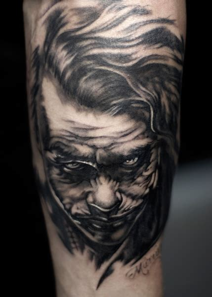 tattoo joker by murran tattoo