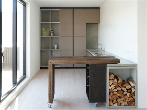 Small Kitchen Islands. Top Small Modern Black Kitchen Island With Drawer And Bamboo Butcher With