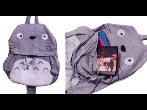 imagenes de mochilas kawaii totoro mochila super facil miku diy youtube