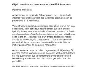 Lettre De Motivation Manager Banque Lettre De Motivation Bts Assurance Par Lettreutile
