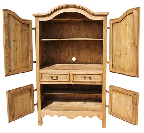 Rustic Pine Armoire by Rustic Pine Collection Armoire Arm12
