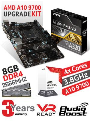 Ready Amd Am4 Bristol Ridge A8 9600 3 1 Ghz Box amd bristol ridge apu a10 9700 dealsdealsdeals