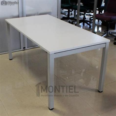 mesa escritorio segunda mano mesa segunda mano 160x80 cm estructura met 225 lica 4 patas