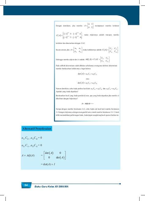 Buku Guru Matematika Smama Kelas Xii K 13 Revisiwajib matematika kelas xii k13 buku guru
