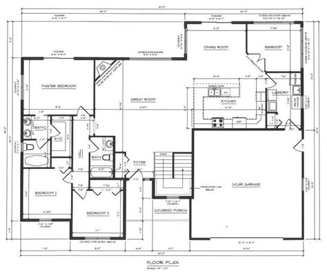 Floor Plan Drafting | hartje lumber drafting