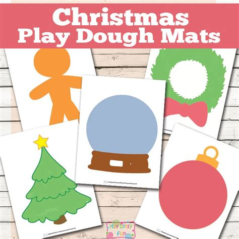 printable christmas playdough mats christmas play dough mats free printable itsy bitsy fun