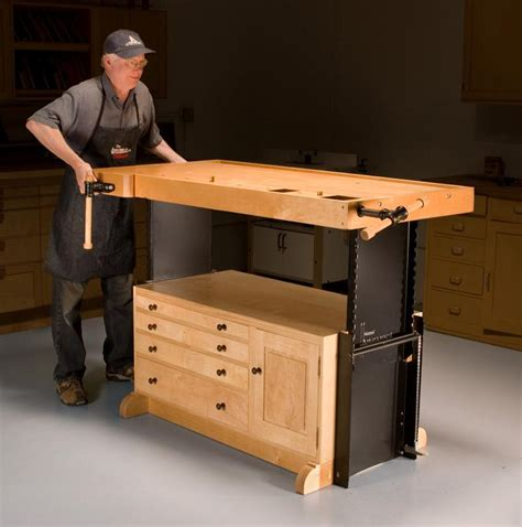 woodworking bench height woodworking bench adjustable height discover woodworking