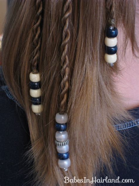how to bead hair rope braids with in hairland