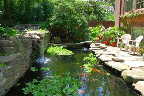 Aquascape Ponds Building A Koi Pond Or Garden Pond How To Take Care Of