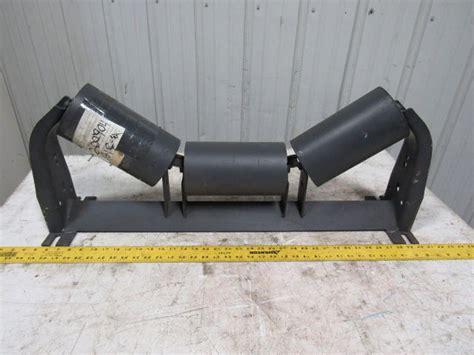 precision pulley idler ppi  te sb conveyor toughing idler roller bullseye industrial sales