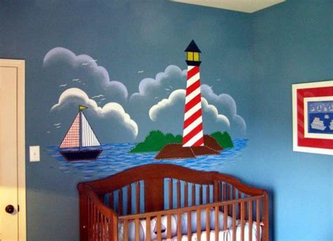 lighthouse wall mural lighthouse mural idea murals ideas lighthouses and murals