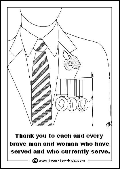 Free homeschool resource - Memorial Day coloring pages