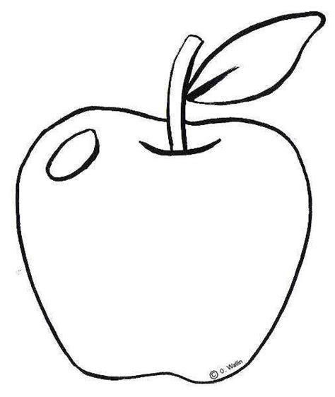 imagenes para colorear una manzana dibujos de frutas y hortalizas actividades infantil