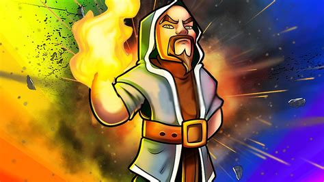 Clash Of Clans Wizard C003 clash of clans most powerful wizard of all time