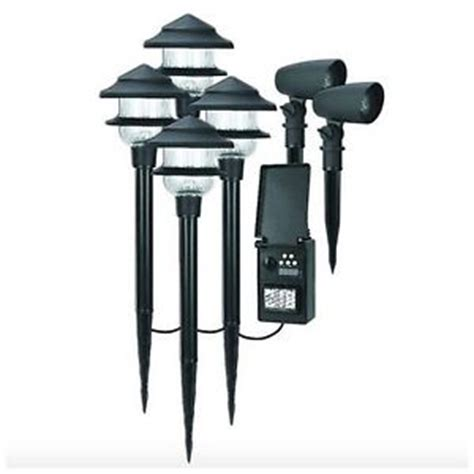 Landscape Lighting Transformer Led Low Voltage Outdoor Landscape Path Light Lighting 6 Pack Lights Transformer