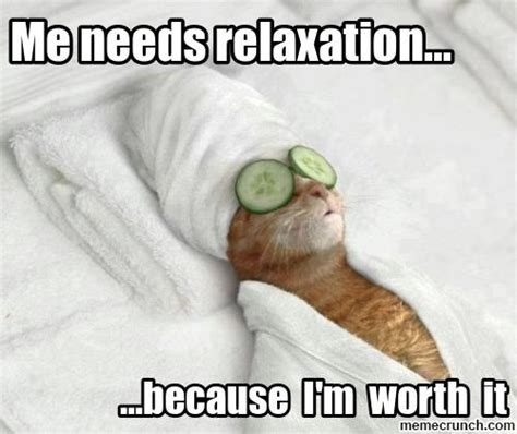 Relax Meme - image gallery no breaks at work