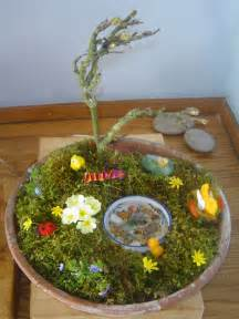 Spring garden craft ideas natural easter and spring pinterest