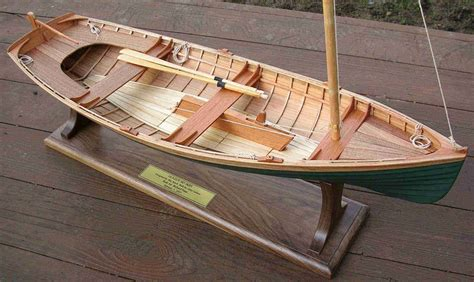 dispaly models of wooden boats - Wooden Boat Model