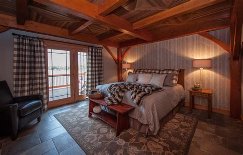 lake house bedroom timberframe lake house master bedroom rustic bedroom