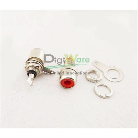 Limit Switch Panjang Roda Hitam rca socket panel panjang 20 46mm 1 pin merah hitam digiware store