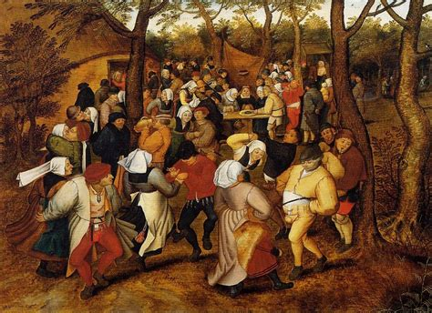 the bruegels lives and the peasant wedding oil on panel by pieter bruegel the younger 1525 1569 belgium