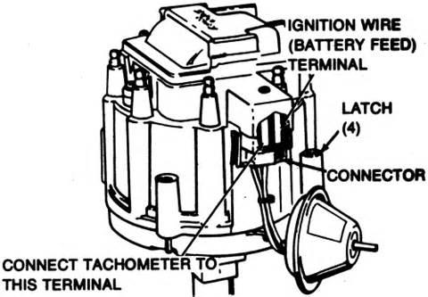 repair guides tune up procedures tachometer hook up autozone