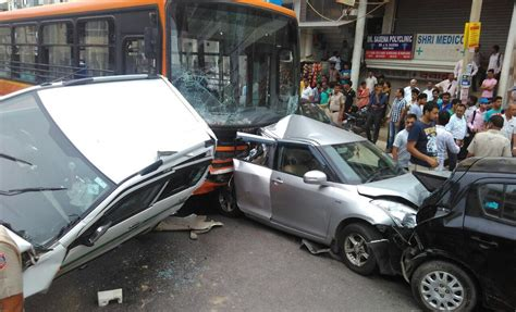 indian car on road tata bus accident www pixshark com images galleries