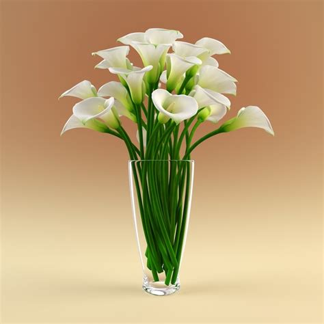 3d Flower Vase by 3d Vase Models Max 3ds Obj Fbx C4d