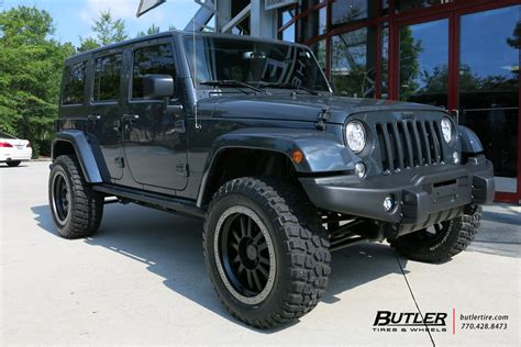 jeep smoky mountain rhino jeep wrangler with 20in black rhino tanay wheels