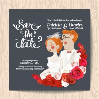 Wedding Invitations With Characters by Wedding Card Vectors Photos And Psd Files Free