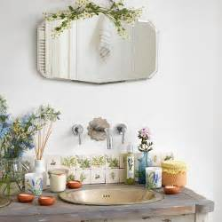 vintage style bathroom mirror vintage basin and taps with bevelled mirror vintage