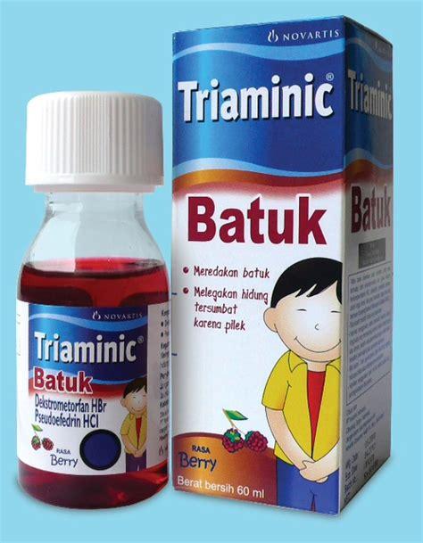 Obat Triaminic batuk kering the