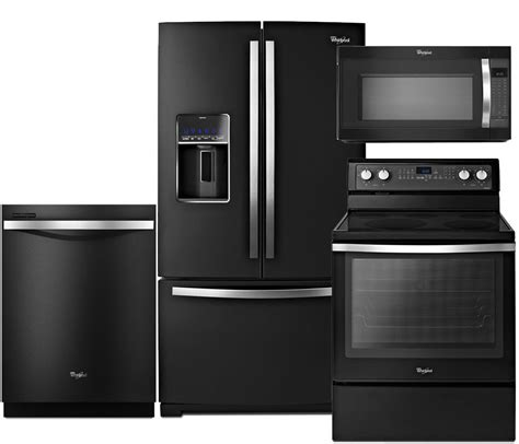 black kitchen appliance packages black kitchen appliance package whirlpool black ice