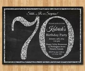 70th birthday invites templates carte d invitation anniversaire les variantes les plus
