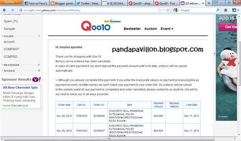 email qoo10 another experience purchasing at qoo10 meylisa agustina