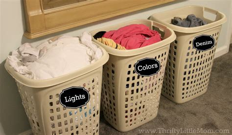 5 Ways To Speed Up Laundry Day 187 Thrifty Little Mom Sorting Laundry