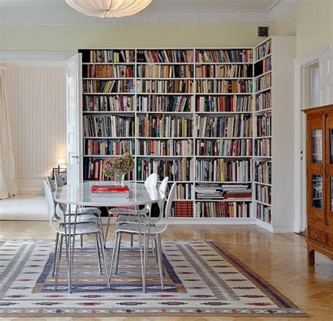 home interior books 50 ideas to organize a home library in a living room shelterness