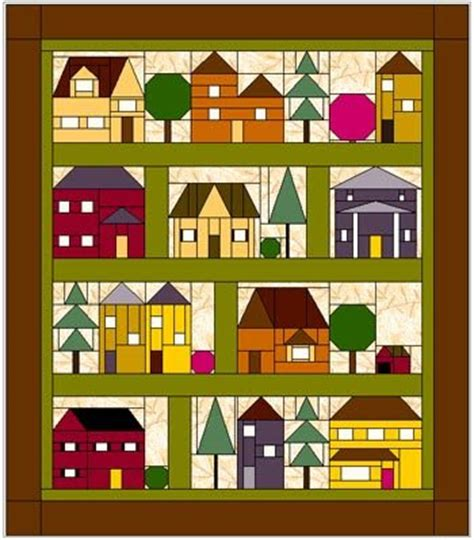 quilt pattern house free elins kreative side come over to my house free bom from