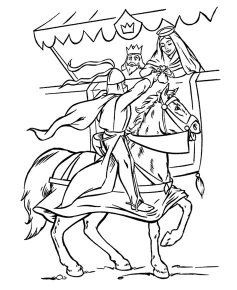 coloring pages medieval knights medieval coloring page coloring home
